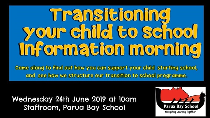 Parua Bay School Newsletter 18th June 2019